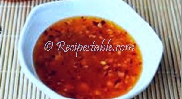 Hot and Sweet Dipping Sauce recipe