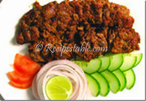 recipe of chicken bihari kabab