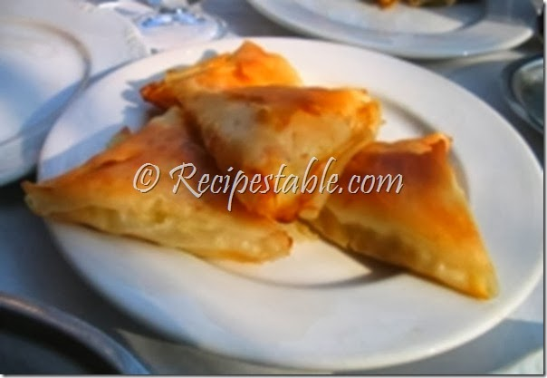 Cheese Parcels Recipe