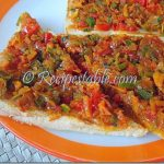 Egg Toast with Vegetables Recipe