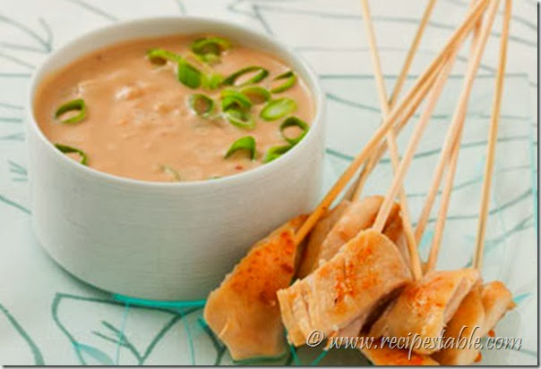 Hot Peanut Sauce Recipe