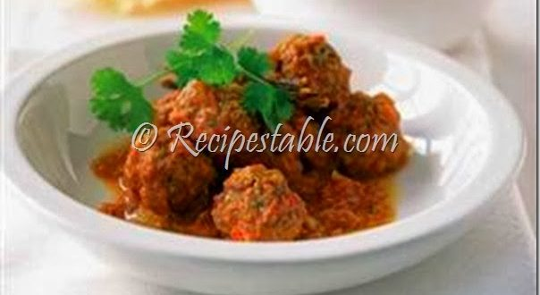 Badami Kofta Recipe by Chef Zakir