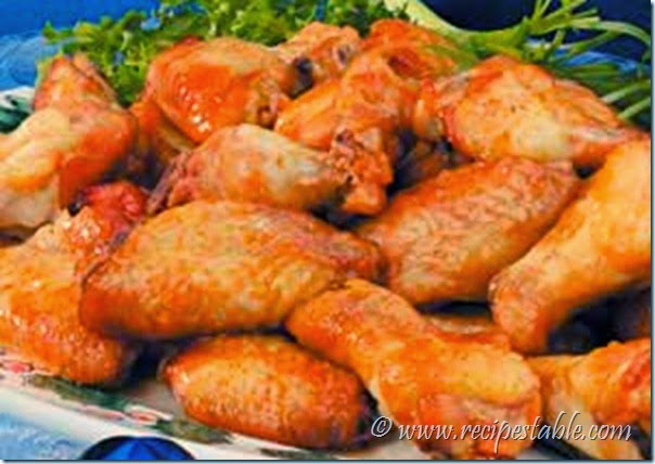 Chicken Wings Fricassee Recipe