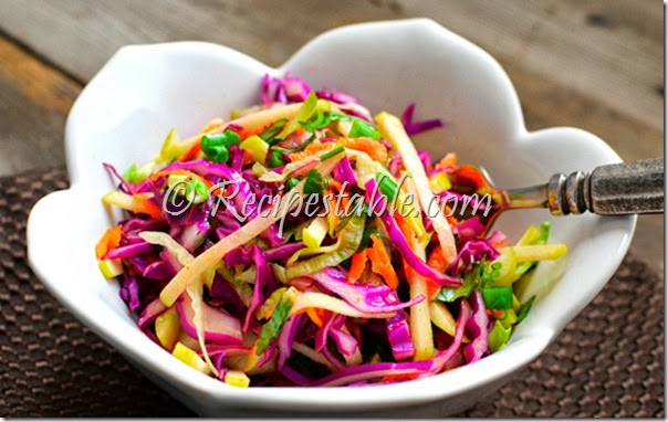 Cabbage and Apple Slaw Recipe