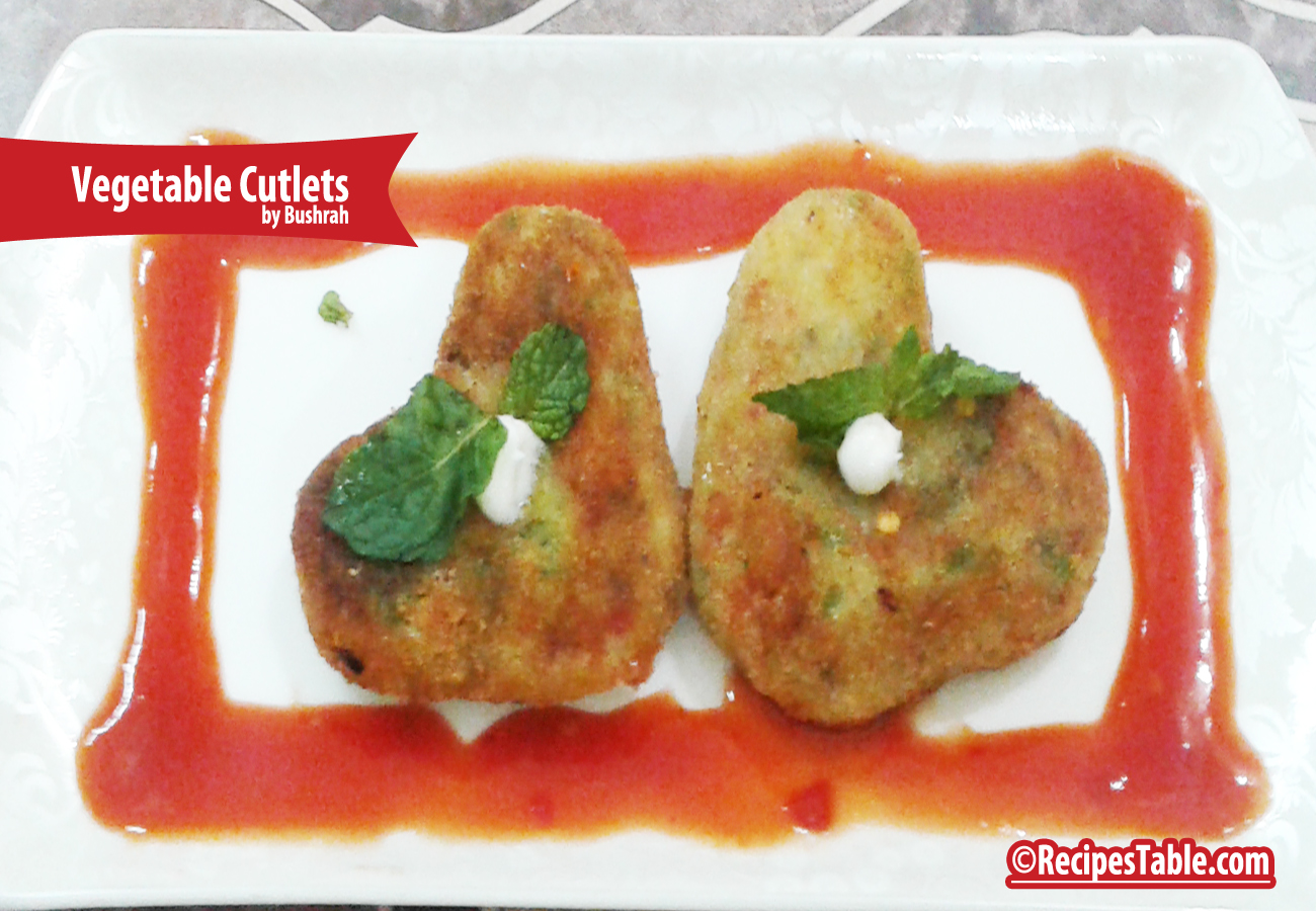 Recipe: Vegetable Cutlets