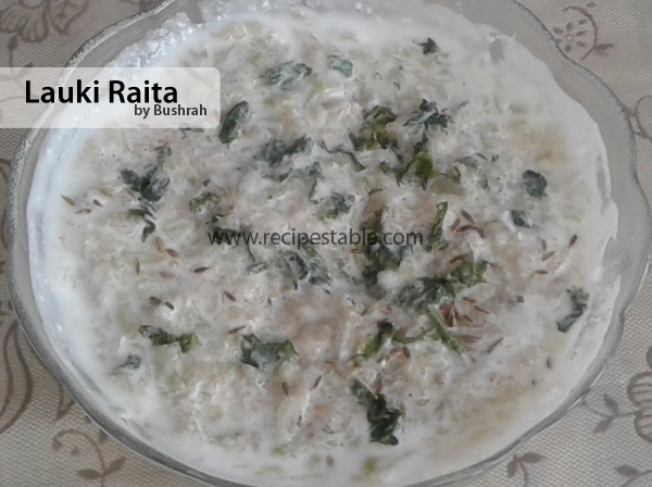 Lauki Raita Recipe