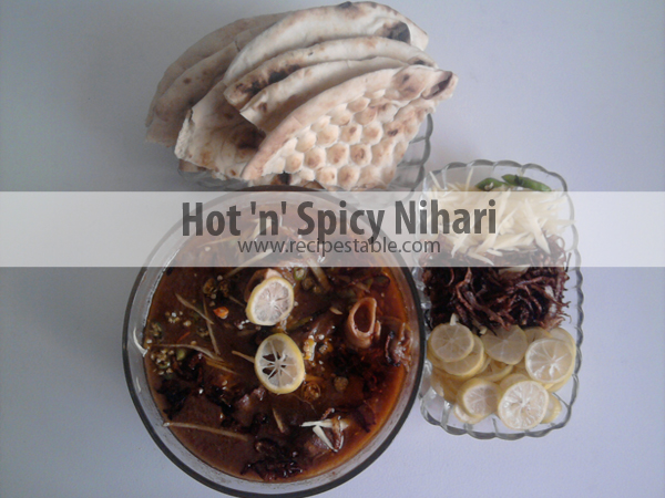Hot 'n' Spicy Nihari Recipe