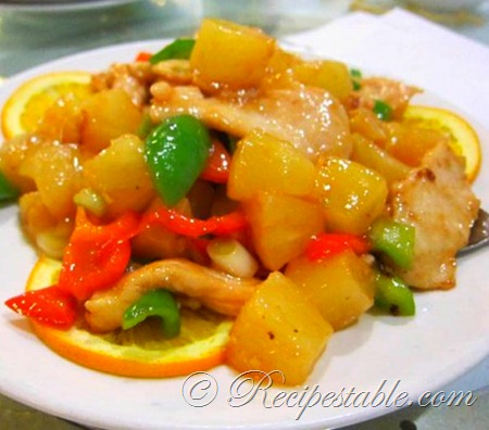 Pineapple Chicken Recipe - Recipes Table