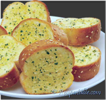 Microwave Garlic Bread Recipe