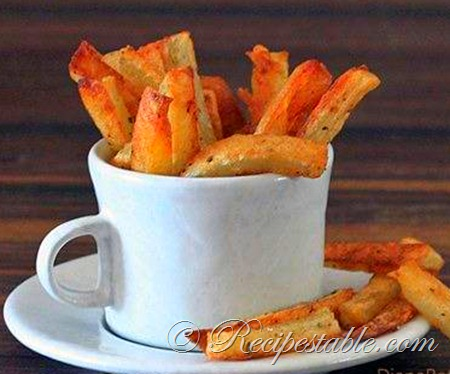 Recipe: Seasoned Oven Fries