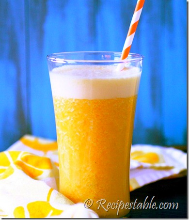 Honey Mango Smoothie Recipe - RecipesTable
