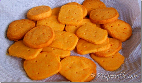 Cheese Wafers Recipe