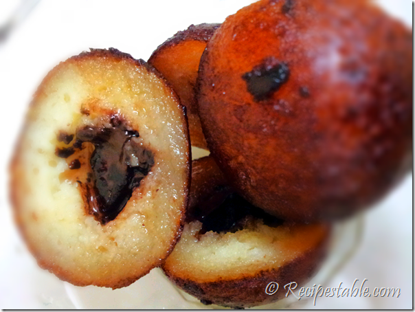 chocolate chip gulab jamun chocolate chip stuffed gulab gulab jamun ...