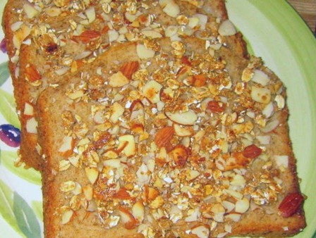 Almond Crusted French Toast Recipe