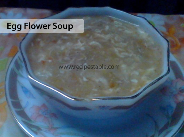 Egg Flower Soup Recipe