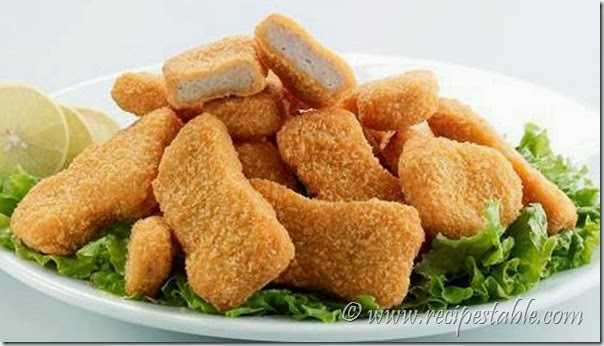 Chicken Nuggets with Dip Recipe