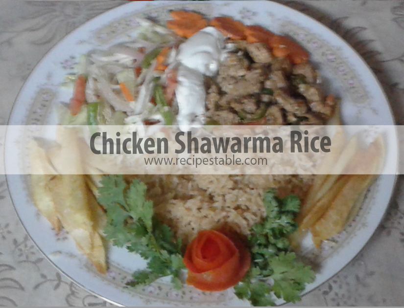 Photo: Chicken Shawarma Rice