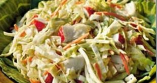 Crunchy Apple Coleslaw recipe