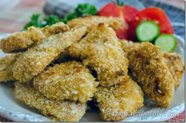 Oven-fried Parmesan Chicken Recipe