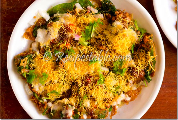 Spinach Chaat Recipe
