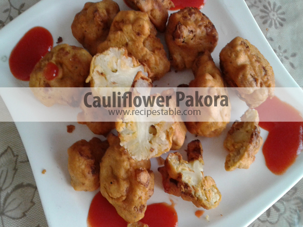 Recipe: Cauliflower Pakora