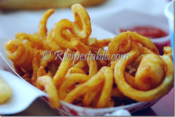 Curly Fries Recipe