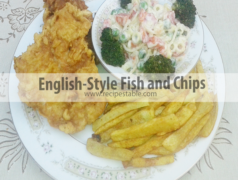 Photo: English-Style Fish and Chips recipe