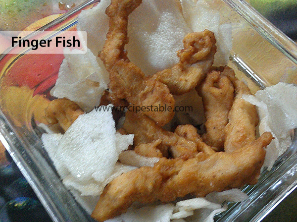 Finger Fish Recipe