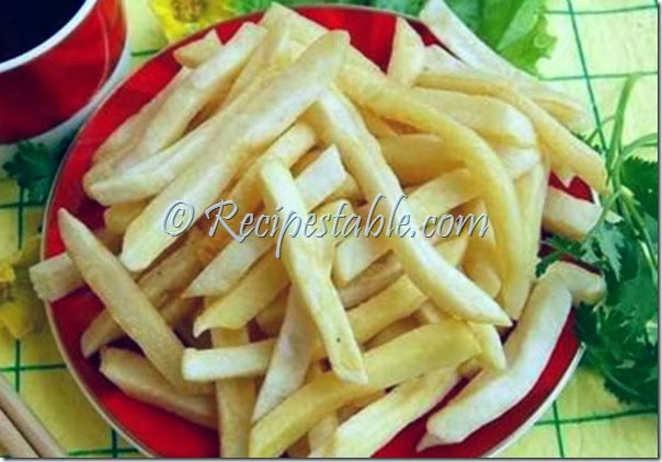 Fried Potato Sticks Recipe