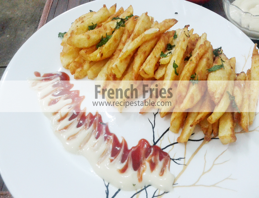 how to make and freeze french fries