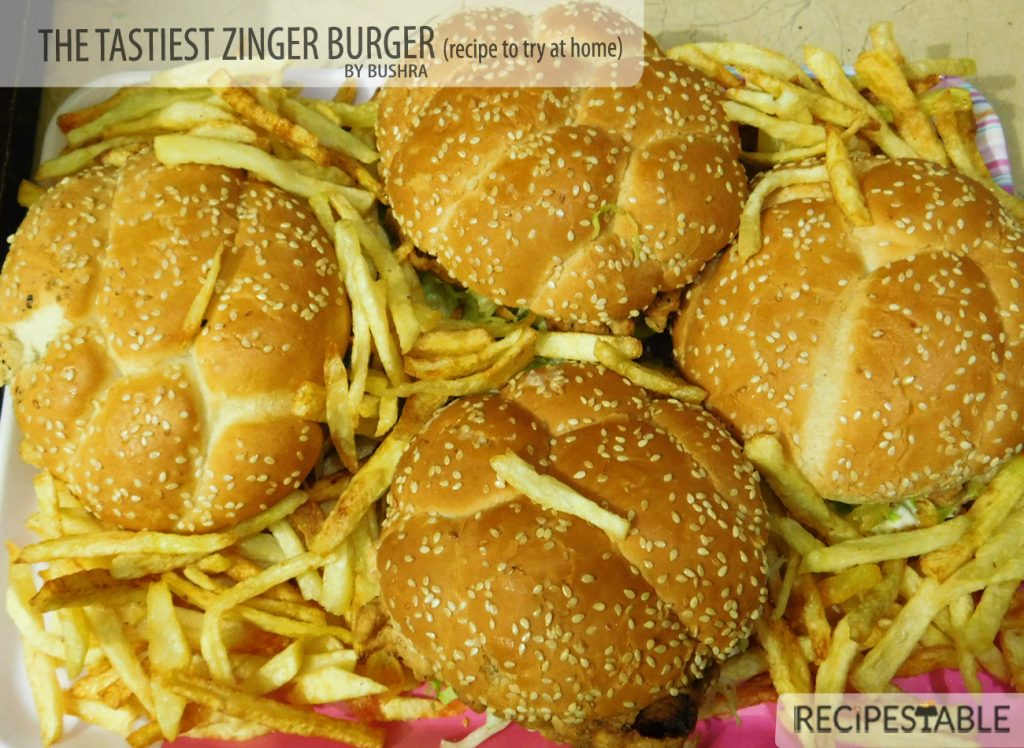 The Tastiest Zinger Burger Recipe to Try at Home