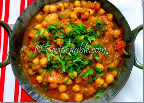 how to cook chana masala