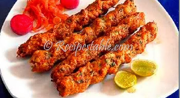 Chicken Reshmi Kabab Recipe by Zubaida Tariq