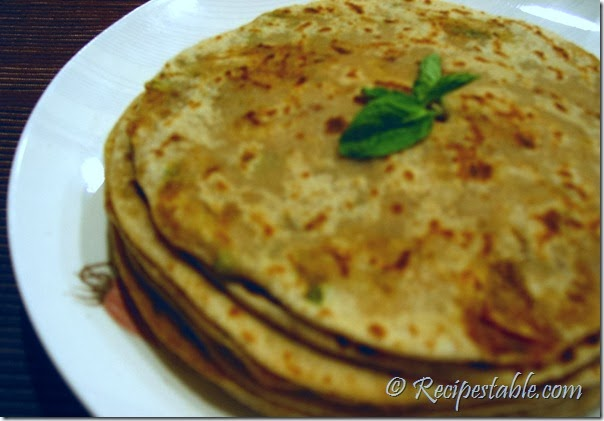Potato Cumin Paratha Recipe