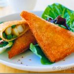 Bread Samosa Sandwich Recipe