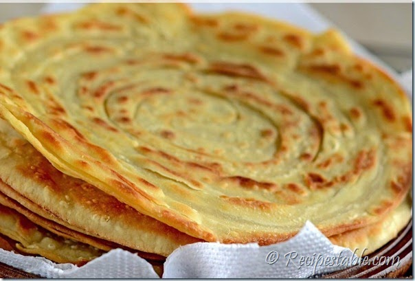 Simple home gardening - Mughlai Paratha Recipe Recipes Table