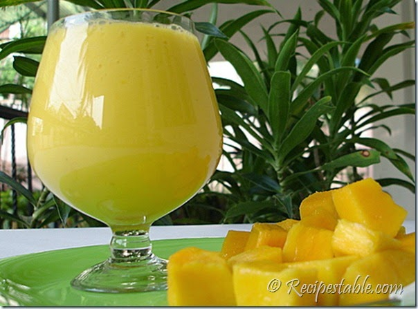 Pineapple Lassi Recipe