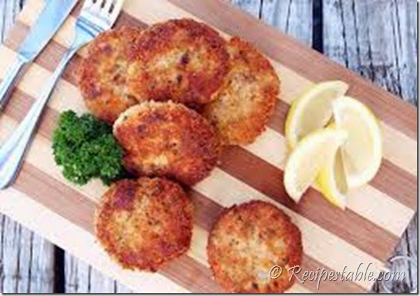 Potato Salmon Patties Recipe - RecipesTable