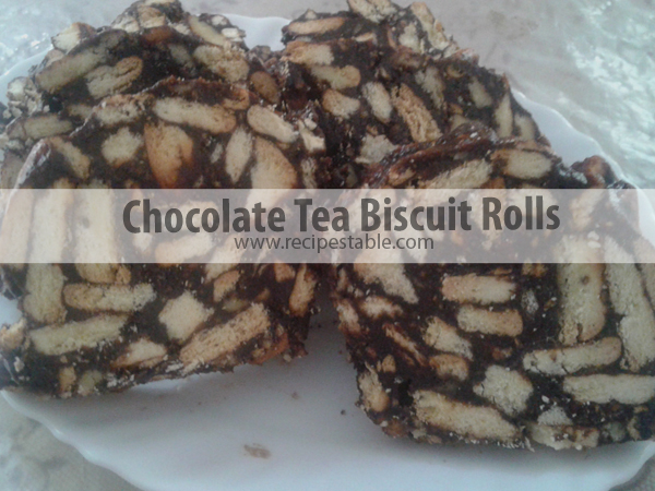 Chocolate tea biscuit rolls recipe recipes table for Table 52 biscuit recipe