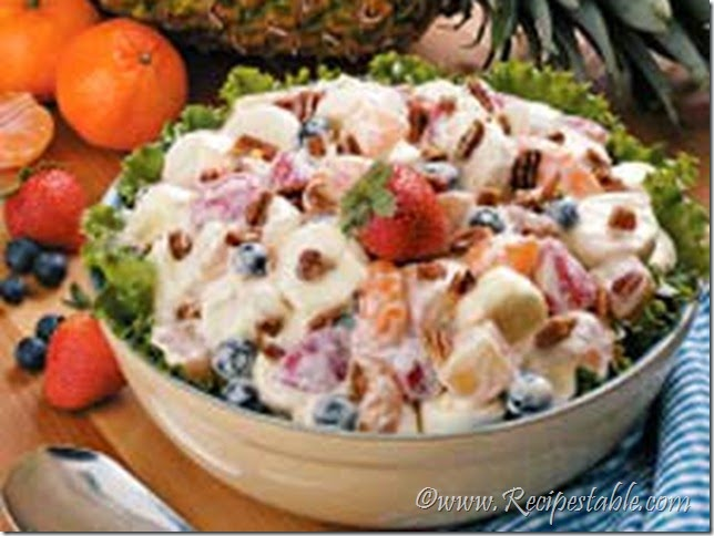 Cream Cheese Fruit Salad