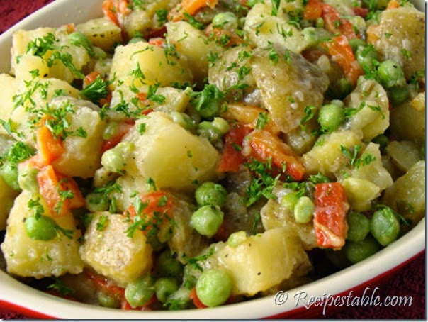 Potato Pea Salad Recipe