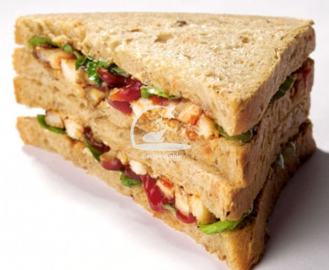 Baked Tikka Sandwiches Recipe by Rida Aftab