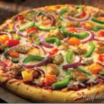 Chicken Fajita Pizza Recipe by Rida Aftab