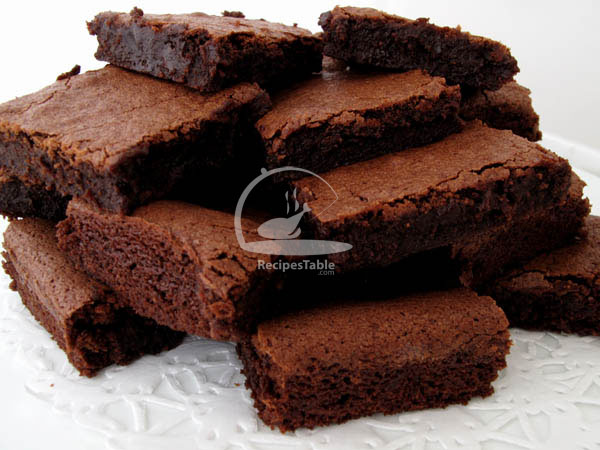 Chewy Chocolate Brownies Recipe by Rida Aftab