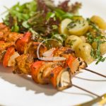 Chicken Jalfrezi Kebabs Recipe