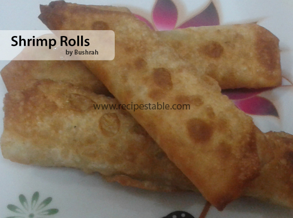 Shrimp Rolls Recipe