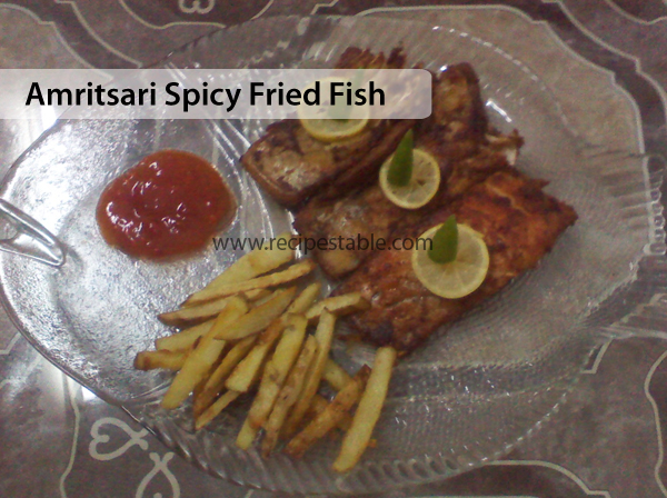 Amritsari Spicy Fried Fish Recipe