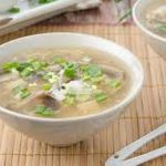 Chicken Mushroom Clear Soup Recipe by Rida