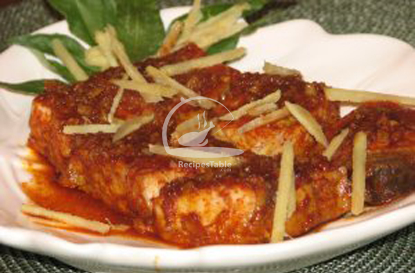 ginger fish recipe recipes table