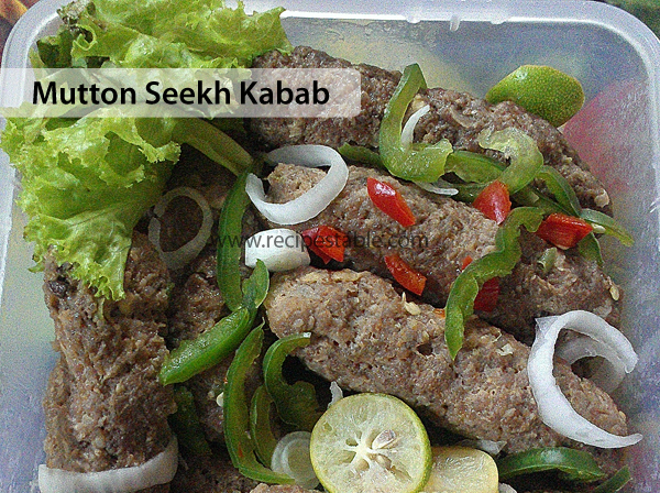 Mutton Seekh Kabab Recipe